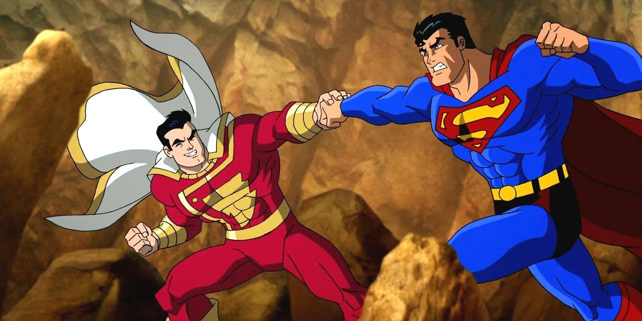 Captain Marvel Now Known As Shazam In Superman Batman