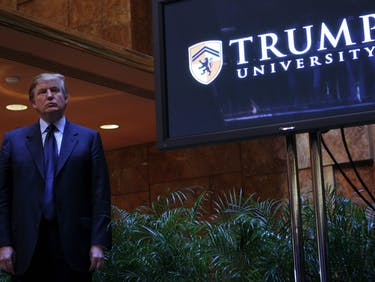 Donald Trump Just Settled for $25 Million in Trump University Suit