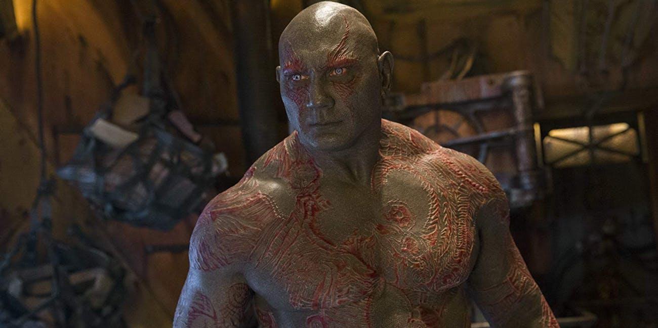 Dave Bautista Drax Marvel Avengers Endgame