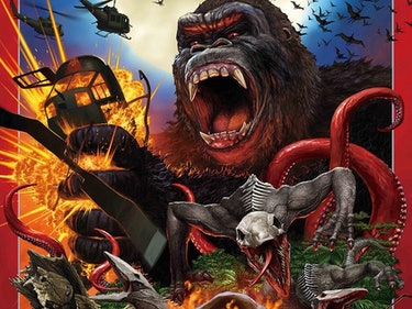 'Kong: Skull Island' Poster Channels Old 'Godzilla' Movies