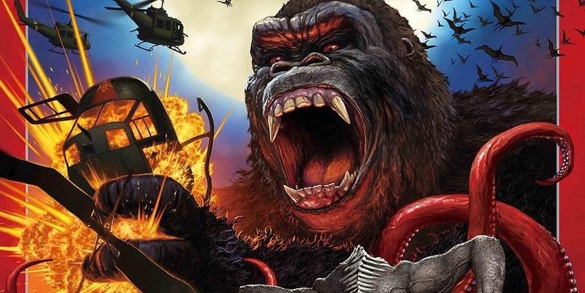 'Kong: Skull Island' Poster Channels Old 'Godzilla' Movies