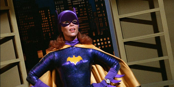 Yvonne Craig as Batgirl in the TV series 'Batman'