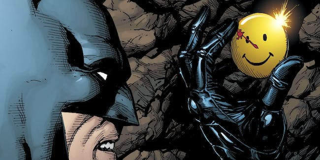 Batman discovers evidence of the Watchmen in DC Universe Rebirth