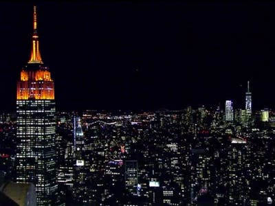 Yes, the Empire State Building Is Orange for Halloween