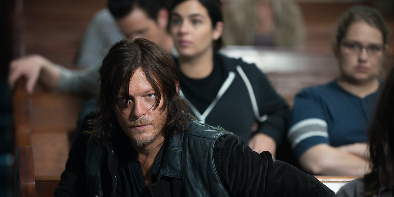 the walking dead daryl dixon norman reedus season 9