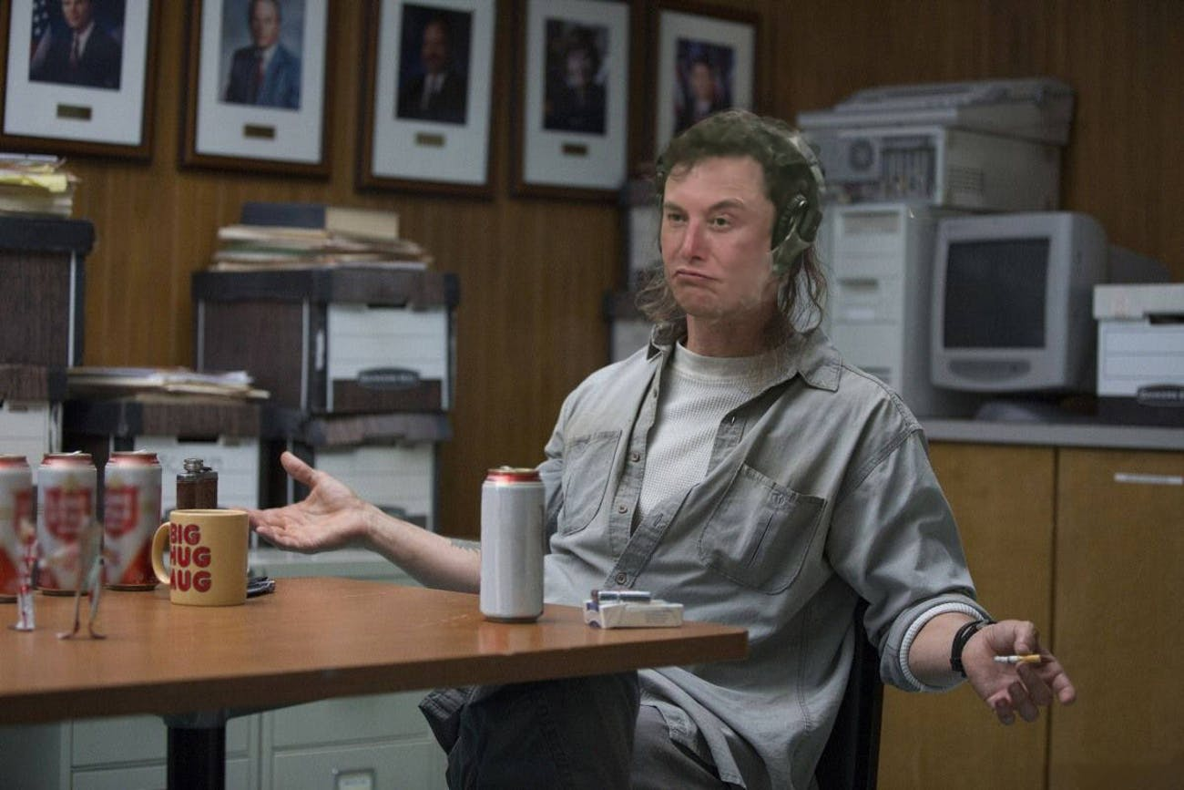 As Matthew McConaughey in 'True Detective'