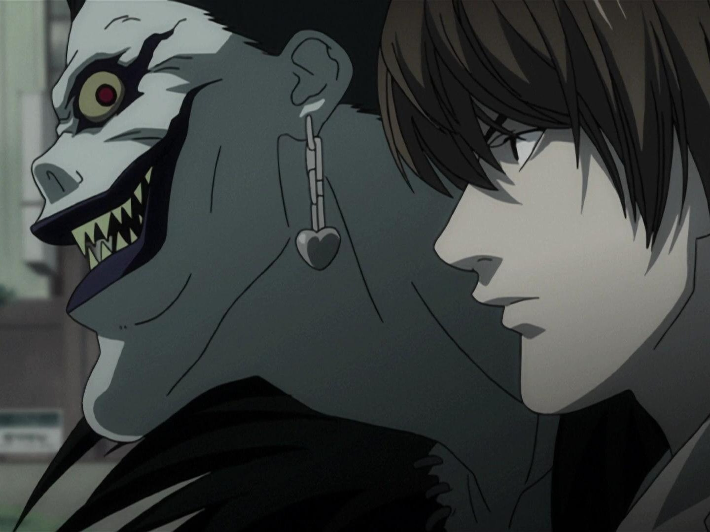 Although part fantasy, 'Death Note' still focuses more on the crimes and solving (commiting) them instead of focusing on the shinigami