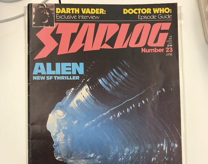 The cover of Issue #23 of 'Starlog' dated June, 1979. (Though it would have been on newsstands about a month earlier.)