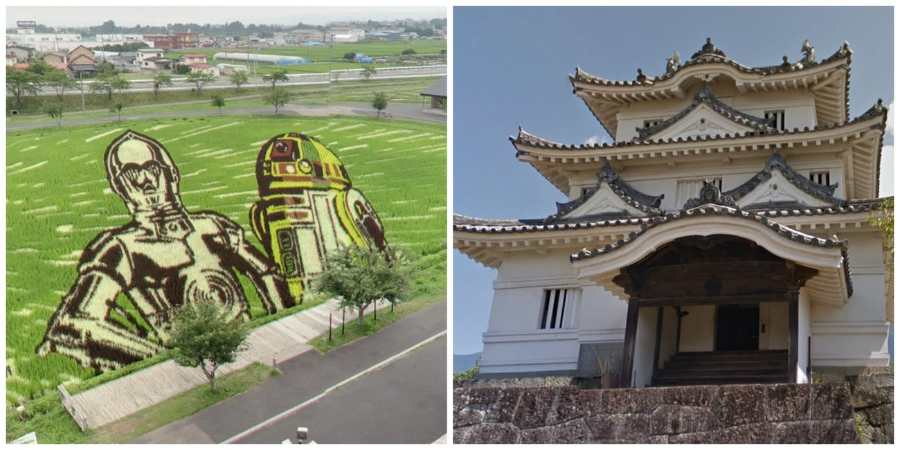 C3P0 Rice Paddy Japanese Castle