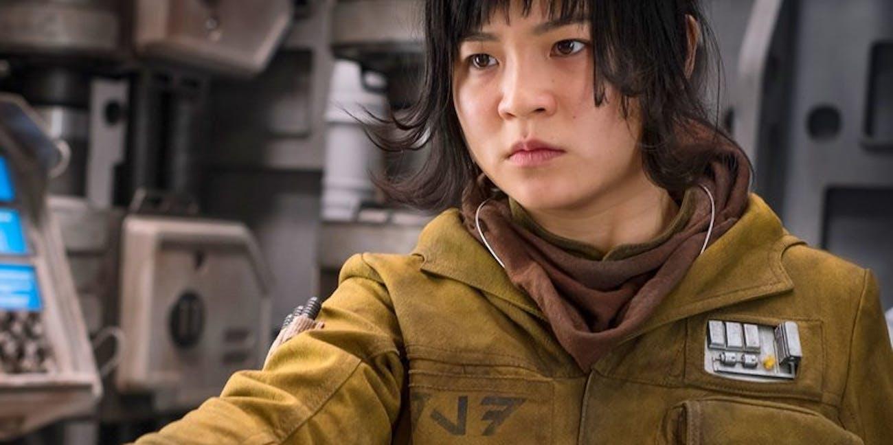 Kelly Marie Tran as Rose Tico in 'Star Wars: The Last Jedi'.