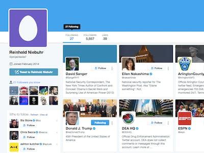 How a Journalist Found FBI Director James Comey's Secret Twitter
