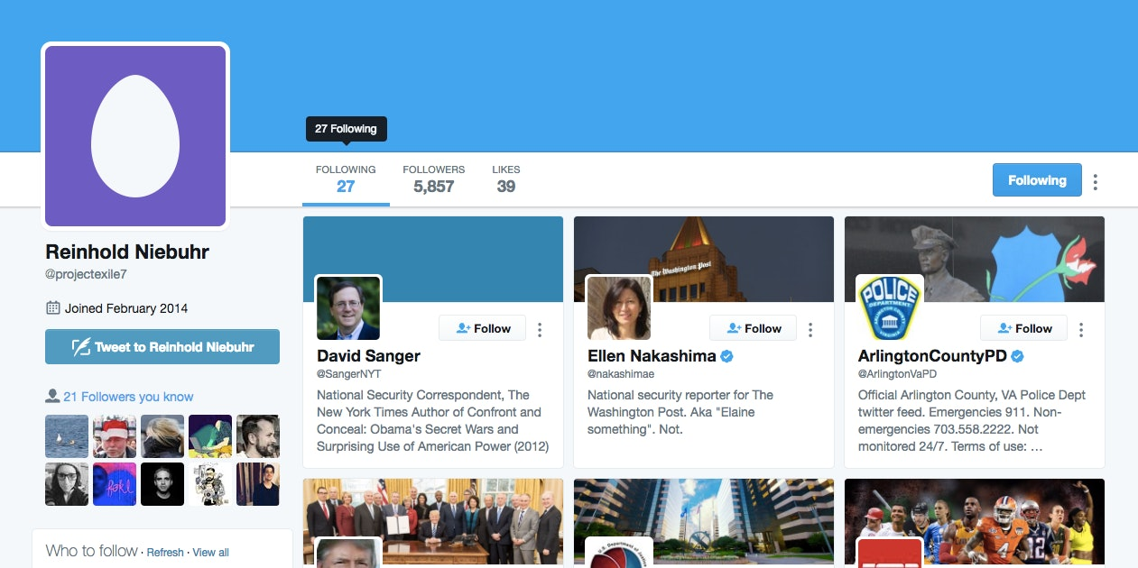 How Gizmodo's Ashley Feinberg Found FBI Director James Comey's Secret Twitter Account