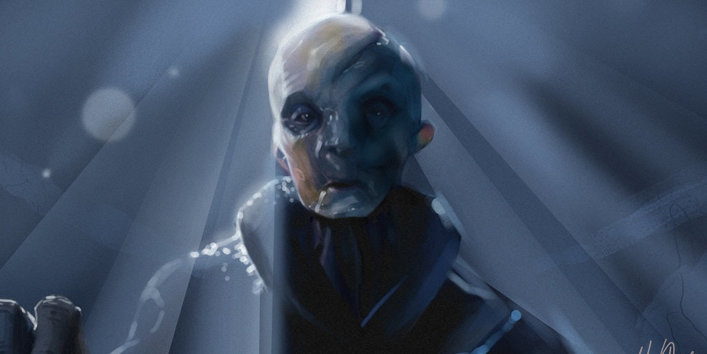 Snoke from Star Wars