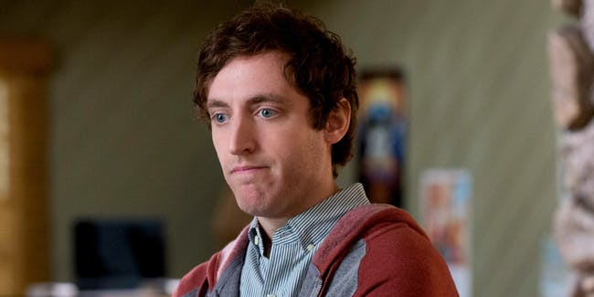 Thomas Middleditch as Richard Hendricks on HBO's 'Silicon Valley'