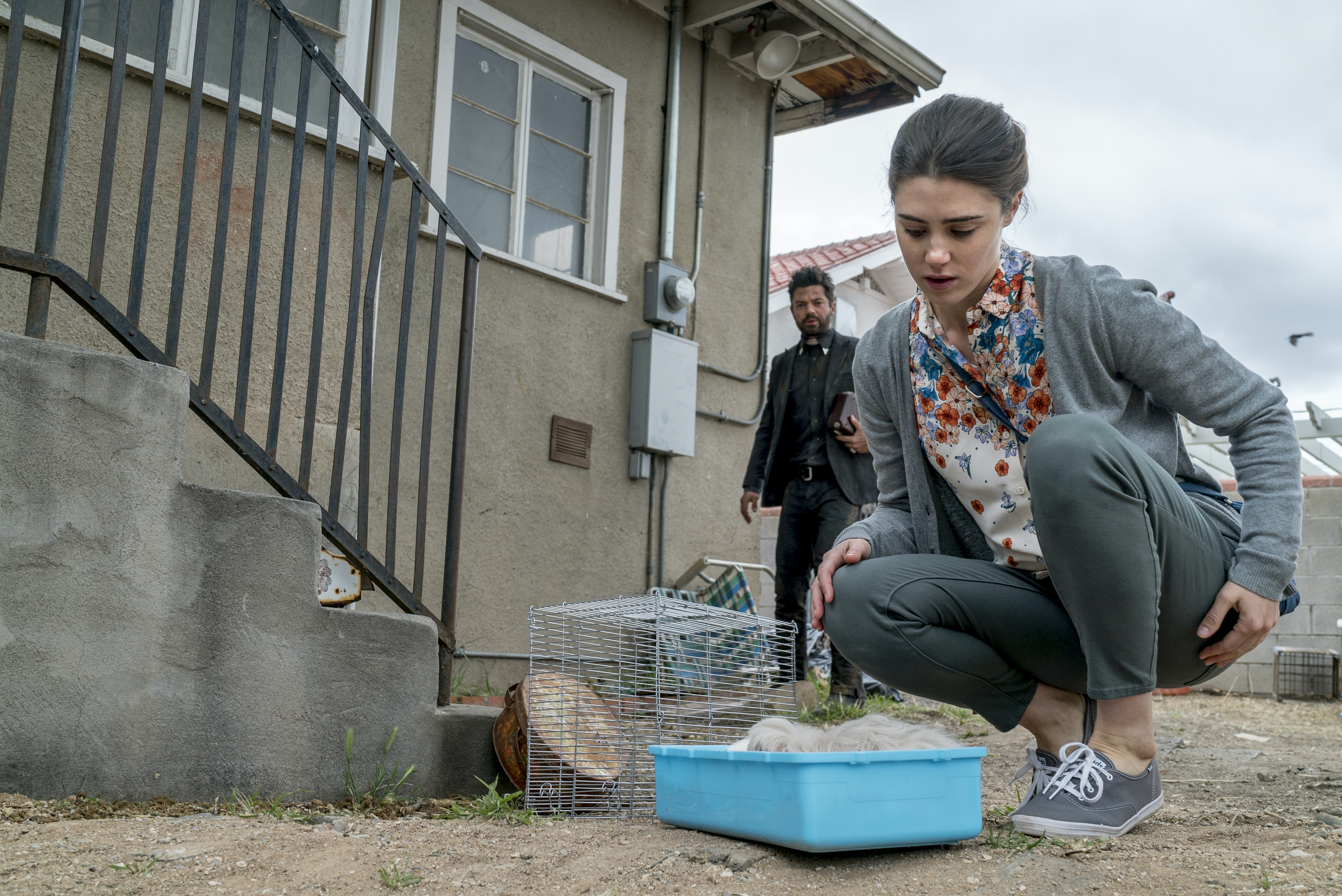 """Emily, just after the deed, in the episode """"Finish the Song"""" in 'Preacher.'"""