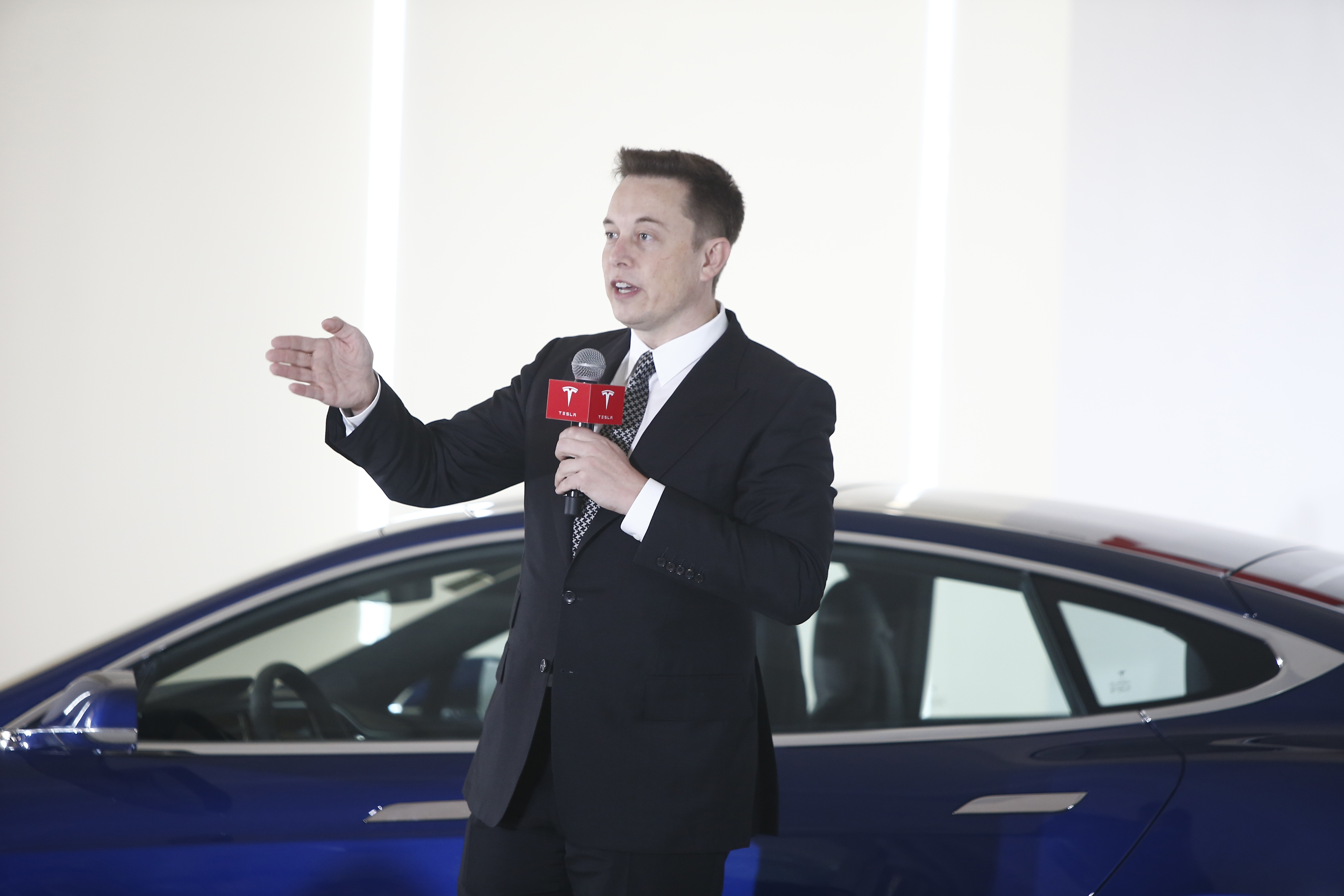 Musk is like a real life Bruce Wayne, but we have no idea what his superhero alter ego is...yet.