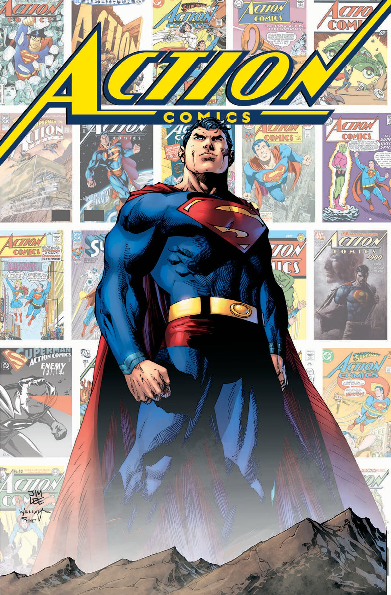 Jim Lee DC Superman Comics