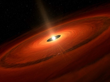 A New Neptune Is Born Before Our Eyes 175 Light-Years Away