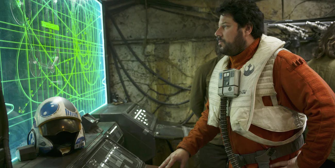 Snap Wexley in 'The Rise of Skywalker'