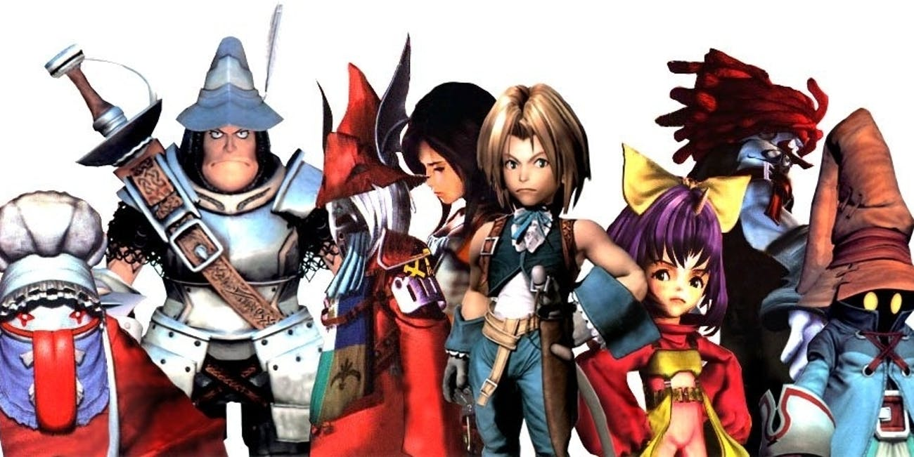 'Final Fantasy IX' featured a bizarre but fun assortment of playable characters.
