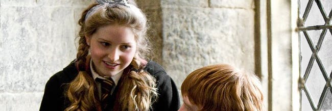 Jessie Cave as Lavender in 'Harry Potter'
