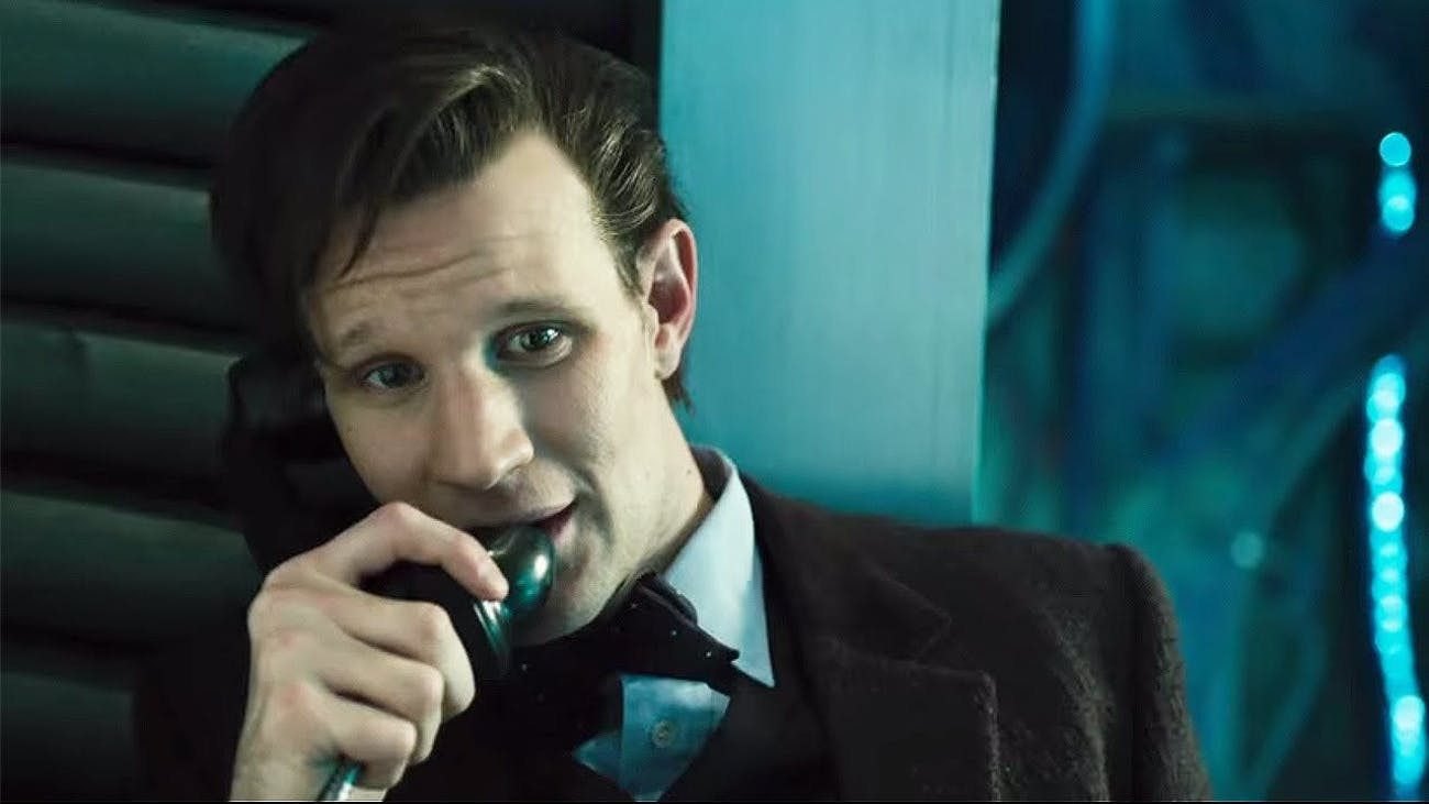 The 11th Doctor as played by Matt Smith.