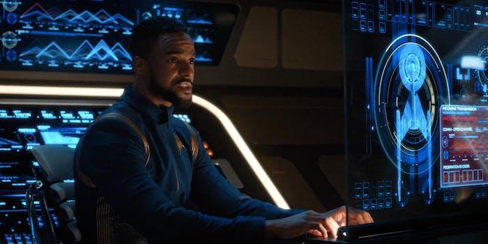 Ronnie Rowe Jr. as Bryce in 'Star Trek: Discovery.'