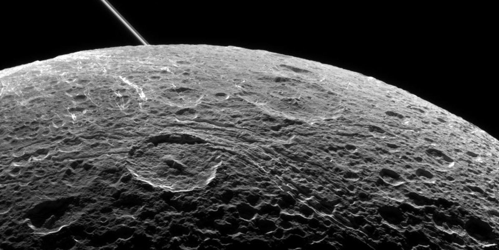 Saturn's Moon Dione Has a Liquid Subsurface Ocean, Too