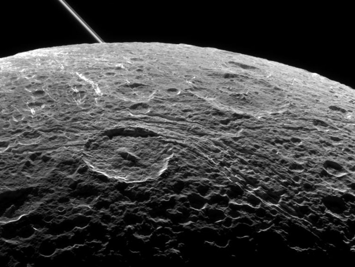 Saturn's Moon Dione Has a Liquid Subsurface Ocean, Too