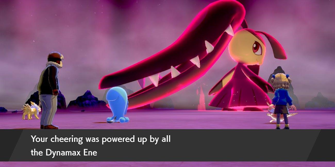 Max Raid Battle Pokemon Sword and Shield