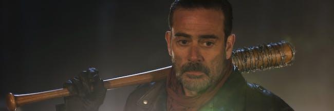 Jeffrey Dean Morgan as the villain Negan in 'The Walking Dead'