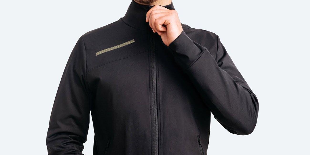 commuter jacket, led jacket, spring jacket, winter mid-layer jacket, fall jacket