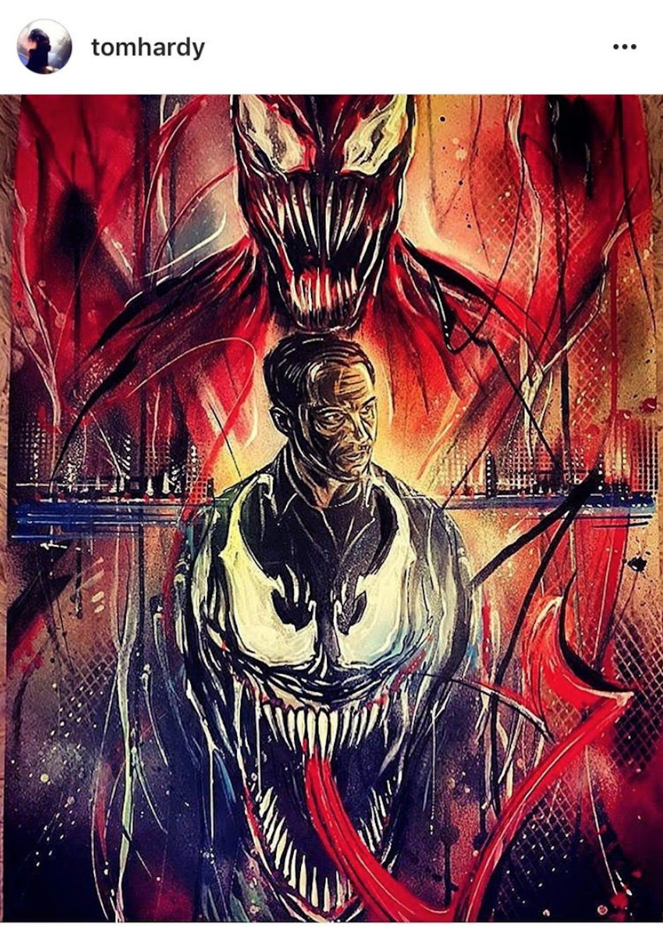 Venom Movie Rumors Carnage Tom Holland S Spider Man Might Appear