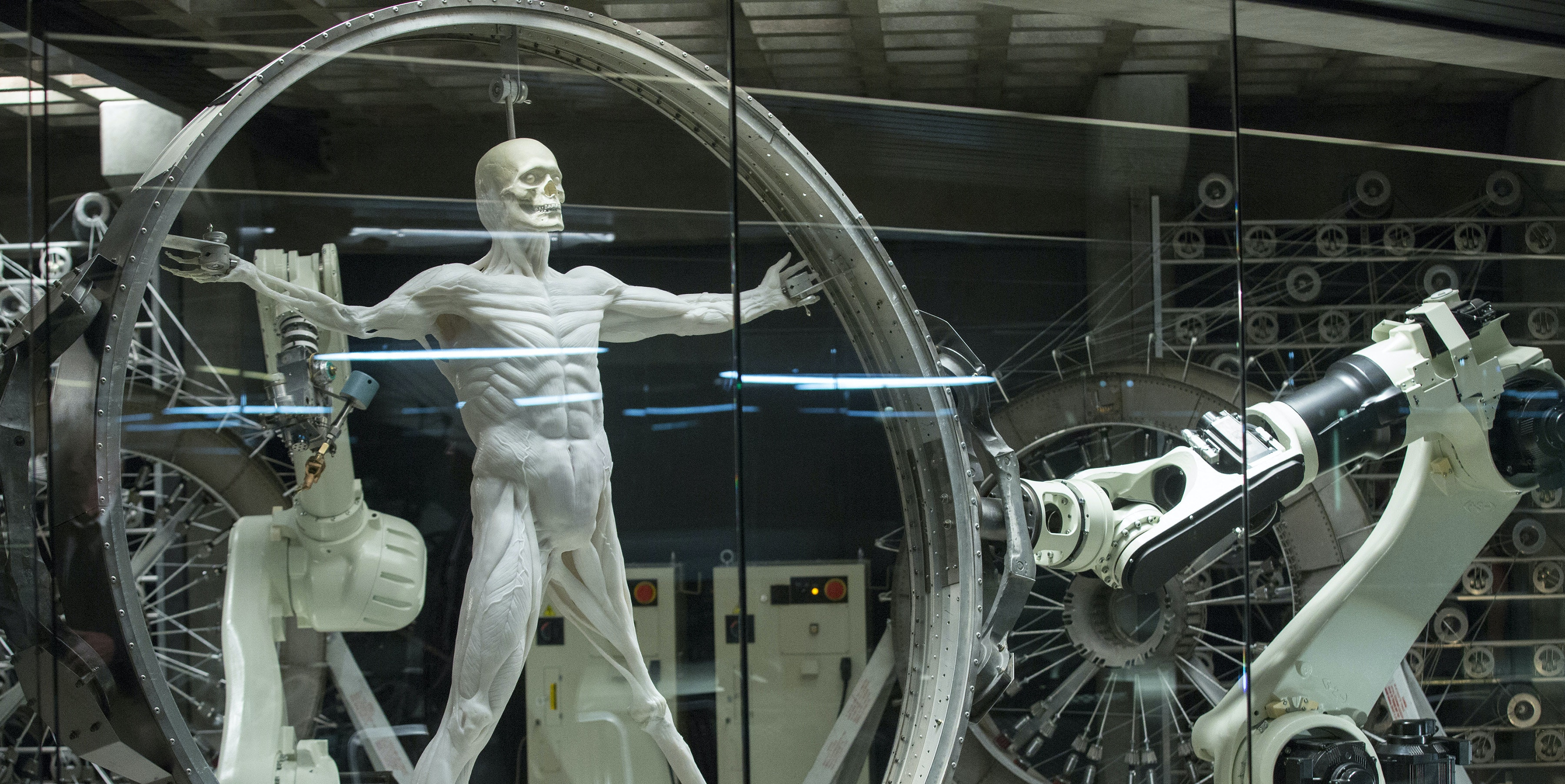 How the 'Westworld' Laboratory 3D Prints Robots and Realism