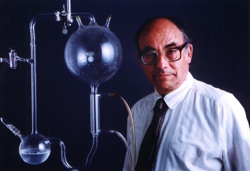 The American chemist, Stanley Miller.