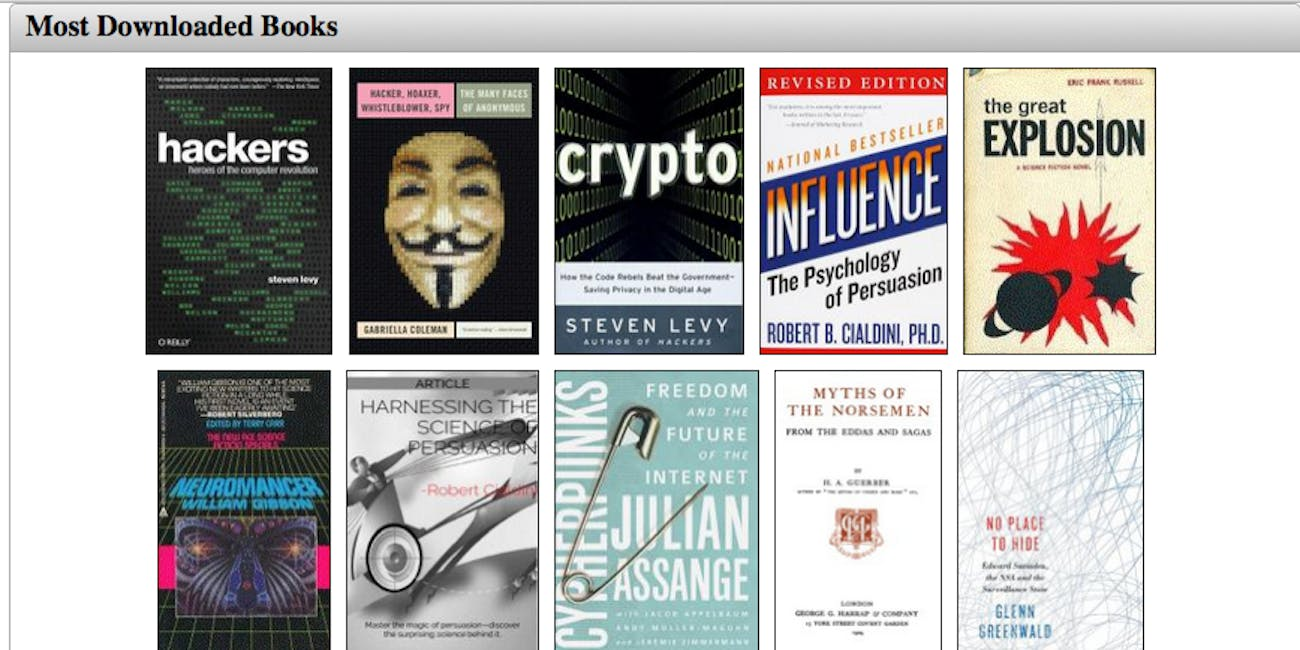 Book Clubs and Paranoid Forums: Tor's Deep Web Isn't All Bad
