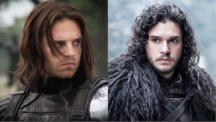 Jon Snow Winter Soldier Marvel
