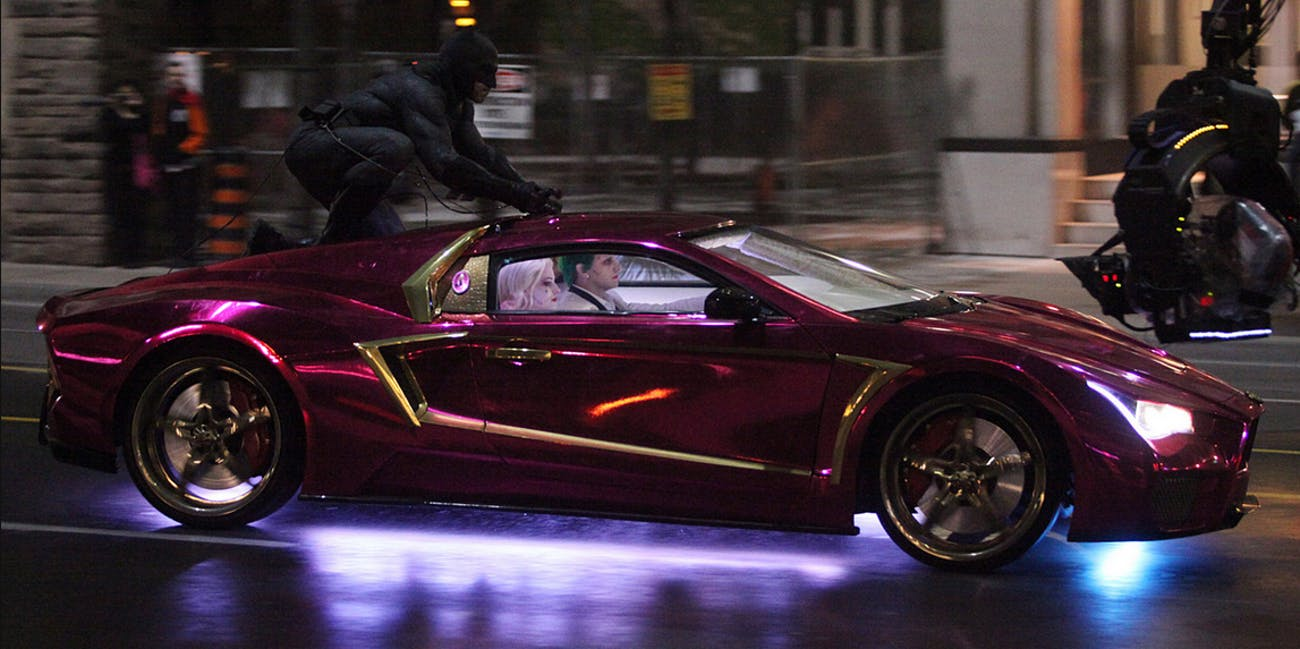 The Joker Mobile A Brief History Of The Cool Car Batman