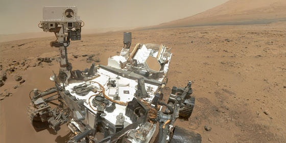 Five years ago the Curiosity rover launched towards the red planet.