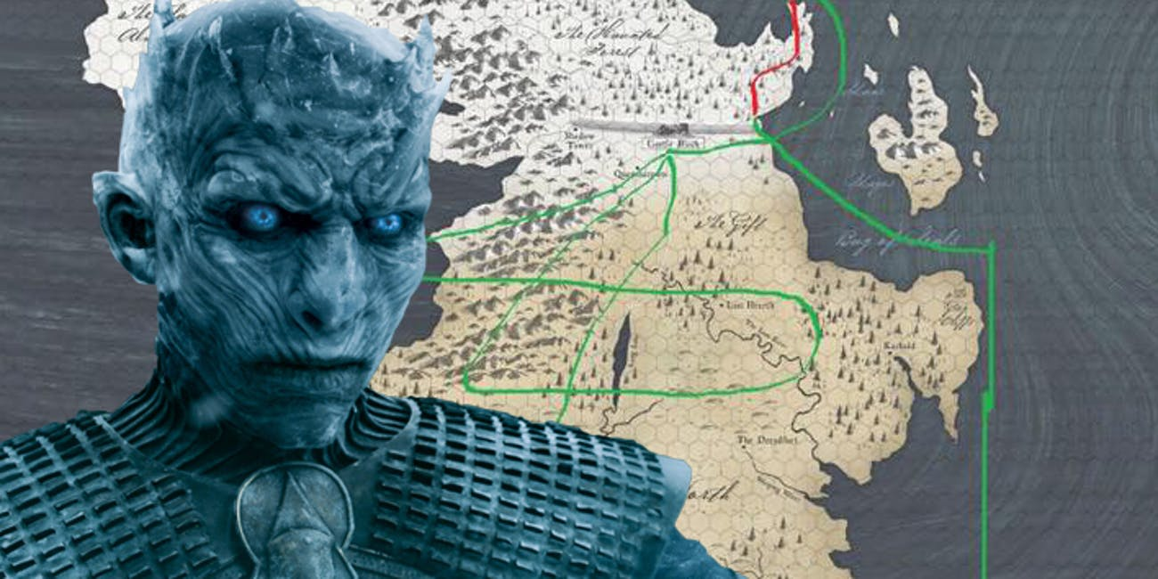 The Night King in 'Game of Thrones' Season 7