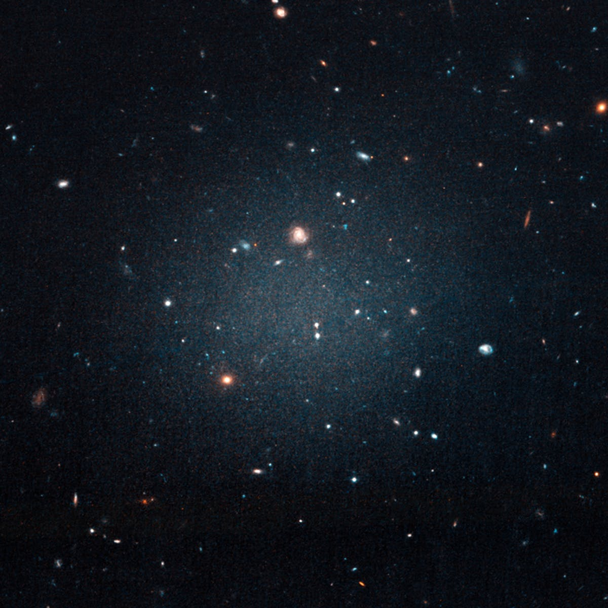 Astrophysicists Discover 'Impossible' Galaxy With Almost No Dark Matter