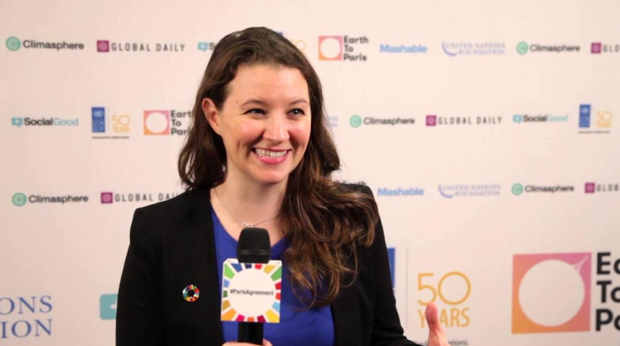 UNDP Climate Change Advisor Cassie Flynn speaks on the Paris Agreement.