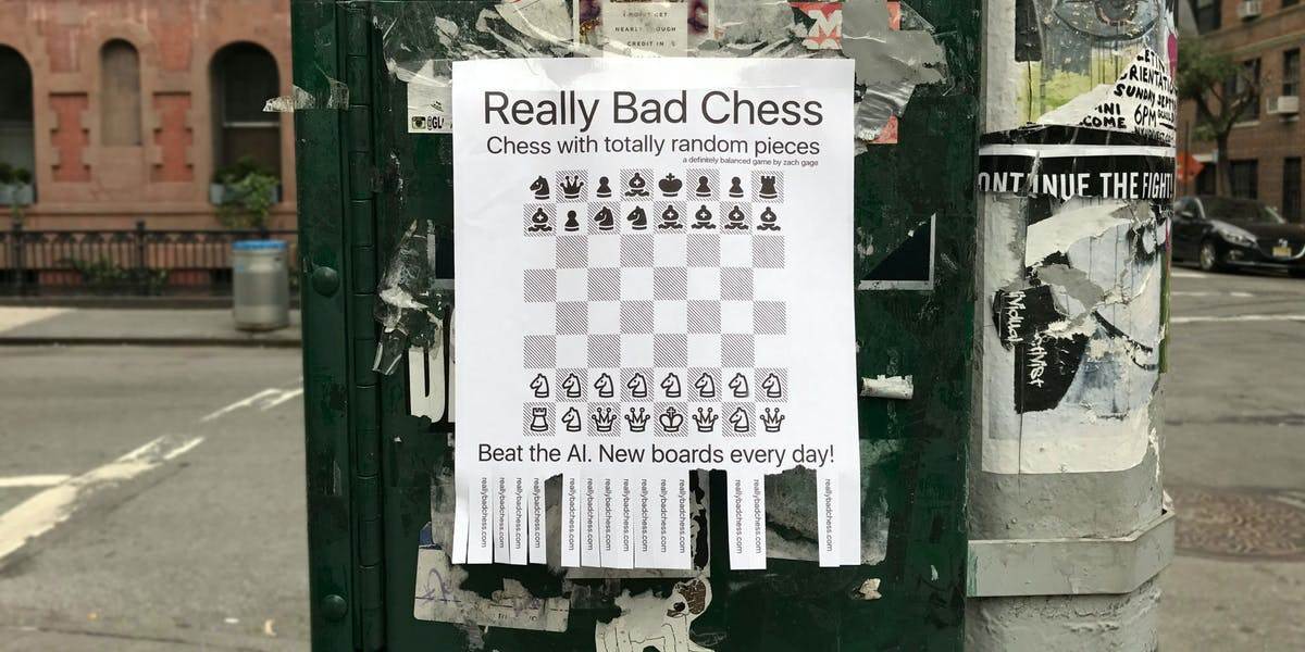 'Really Bad Chess'