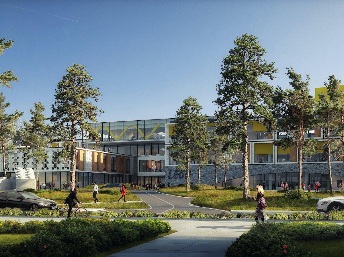 the new lego office complex in billund denmarkjpegrect1033029352199autoformatcompressw1200