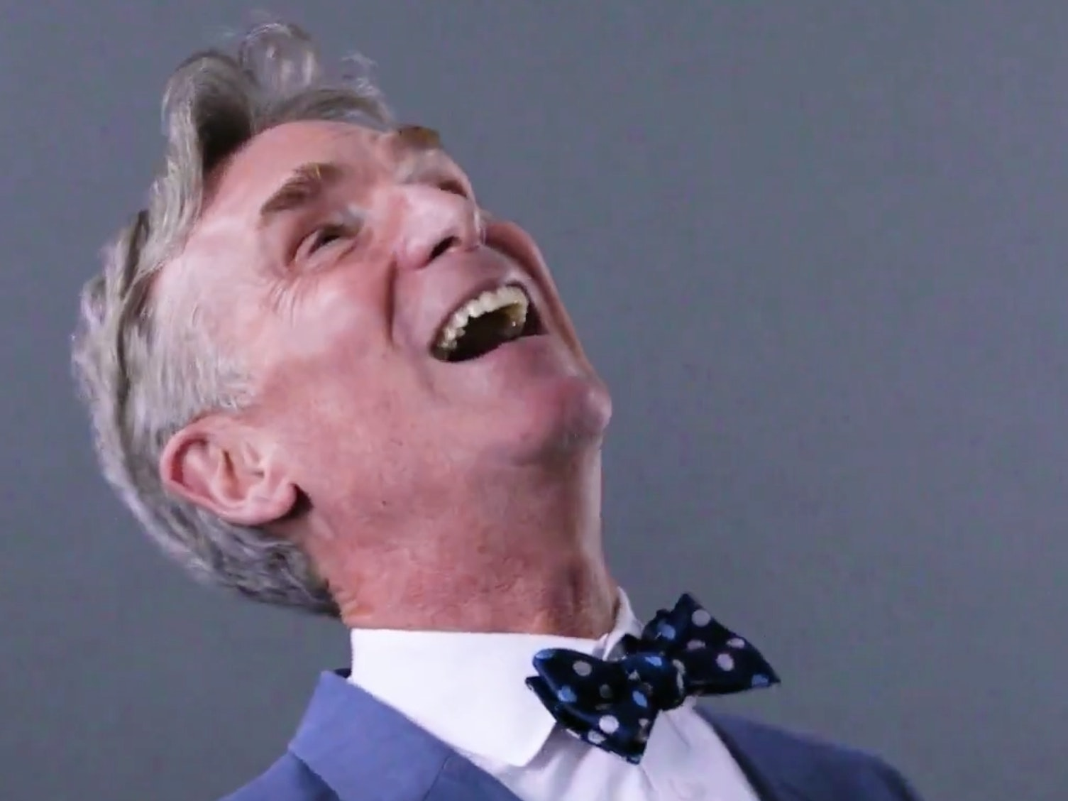 Bill Nye is stoked about his news team.