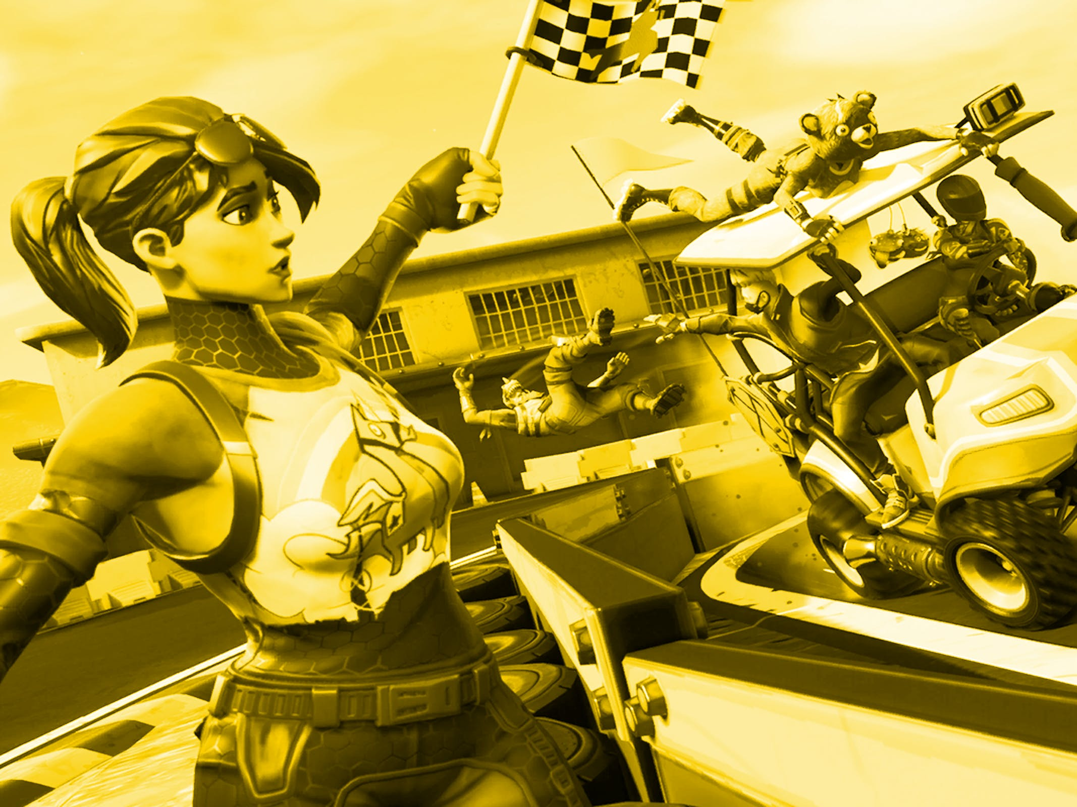 'Fortnite' Track Record Loading Screen