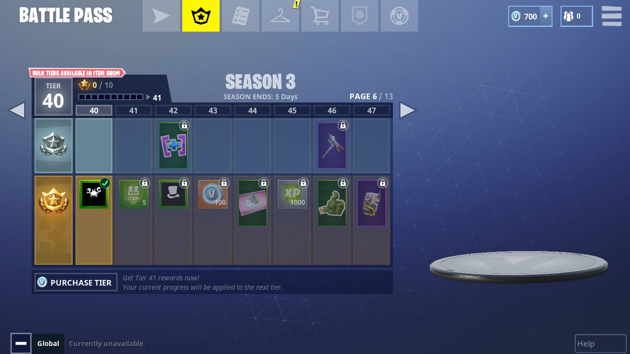 Leveling up your Battle Passes involves completing Challenges to get Stars to unlock Tiers in 'Fortnite'.