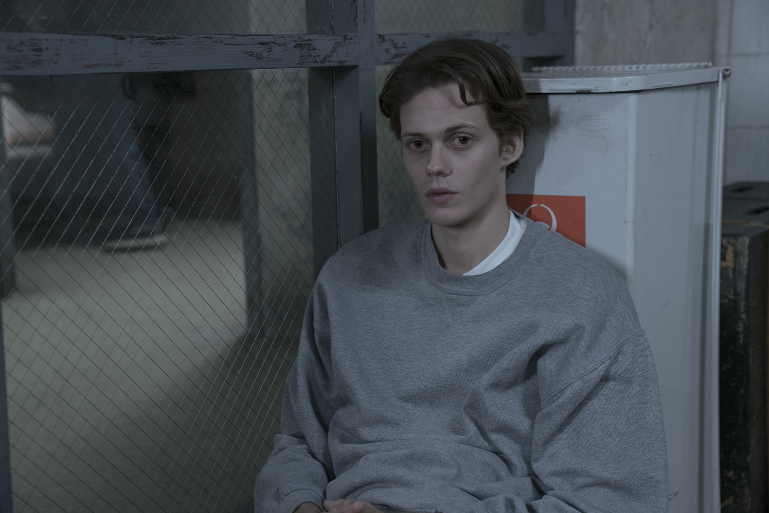 castle rock who is the kid in the cage in shawshank s cell block f