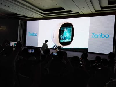 ASUS Sweeps Day Zero of Computex With New Tablets, Phones, Adorable Home Robot