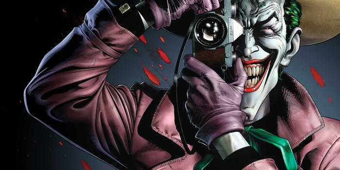 The Killing Joke DC Comics Joker